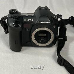 Olympus E1 Pack De Prises De Vuesolympus Digital 50mm F2 Zuiko Macro & 50-200mm Lens