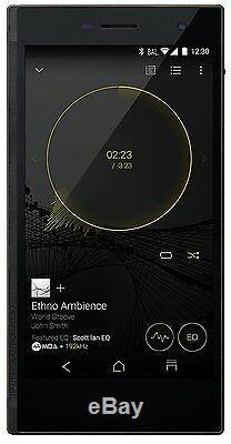 Onkyo Granbeat Dp-cmx1 (b) Audio Numérique Sim Gratuit Smartphone 128gb Android Utilisé