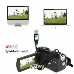 Ordro Ac3 4k Wifi Caméscope Numérique Caméra Vidéo 24mp 30x Ir DV Recorder L1e7