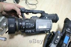 Panasonic 3ccd Enregistreur Numérique Caméra Vidéo Ag-dvx100a Lot De 3