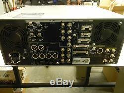 Panasonic Aj-d850p Dvcpro Digital Video Recorder Fonctionne Très Bien! D3