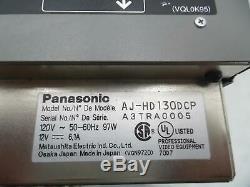 Panasonic Aj-hd130dcp Numérique Hd Magnétoscope Dvcpro Hd