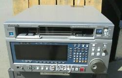 Panasonic Aj-hd3700b D5 Enregistreur Vidéo Numérique Hd 89 Heures De Bande