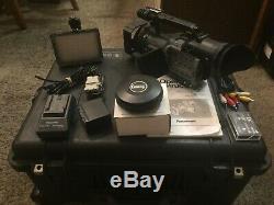 Panasonic Digital Video Recorder Dvx100a W. Objectif Supplémentaire Et Pelican 1610 Cas