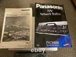Panasonic Dv2000 DV Network Station Nv-dv2000ec Enregistreur De Cassette Vidéo Numérique