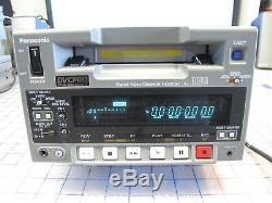 Panasonic Dvcpro Aj-d250p Enregistreur Numérique Sur Cassette Vidéo Aj-d250