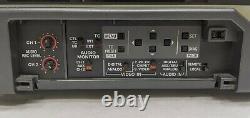 Panasonic Dvcpro Aj-d650p Enregistreur De Cassette Vidéo Numérique Professionnel As-is