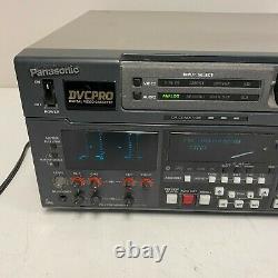 Panasonic Dvcpro Aj-d850p Enregistreur Vidéo Numérique Fonctionne Très Bien