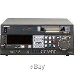 Panasonic Dvcpro / DV Video Cassette Recorder Numérique Aj-sd755
