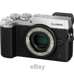 Panasonic Lumix Dmc-gx8 Corps 4k Uhd 20.3mp Argent Dmc-gx8gn-s Appareil Photo Numérique