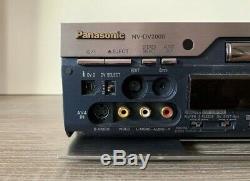 Panasonic Nv-dv2000 Enregistreur Numérique Cassette Vidéo Mini DV Enregistreur