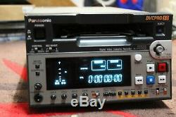 Panasonic Video Cassette Recorder Numérique Pro50 Aj-sd93