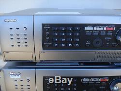 Panasonic Wj-hd616k 16 Canaux Enregistreur Vidéo Disque Numérique Dvr Hd 2tb Quantité
