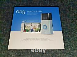 Ring Video Doorbell 2, 1080p Hd Video, Two-way Talk Motion Detection, Wi-fi New+