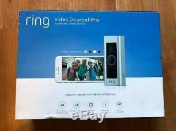 Ring Vidéo Sonnette Pro Wifi Hd 1080p Détection De Mouvement 2-way Audio