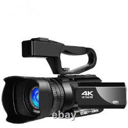 Rx100 4k Caméscope Vidéo Numérique Hd Touch Enregistreur De Photographie D'écran Pour Webcam