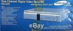 Samsung Ssc Enregistreur Vidéo Numérique IL Est Principalement Pour La Surveillance Peut Utiliser La Télévision