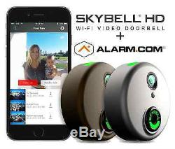 Skybell Hd Alarme Wi-fi Sonnette Caméra. Com Color Night Vision