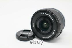 Sony A6300 Caméra Numérique 4k 24.2mp (6 684 Prises De Vues) Avec Objectif 16-50mm