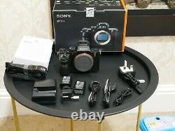 Sony A7r Mark II Corps De Caméra Numérique 40 000 S/c Cadran D'exposition Ne Fonctionnant Pas #3