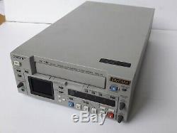 Sony Cassette Vidéo Enregistreur Numérique Dsr-25 Dvcam 0x10 Heures Tambour Mini DV 1394