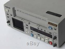 Sony Cassette Vidéo Enregistreur Numérique Dsr-25 Dvcam 1x10 Heures Tambour Mini DV 1394