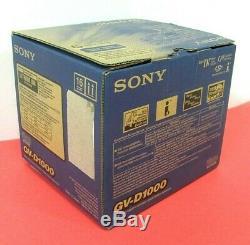 Sony Cassette Vidéo Enregistreur Numérique Gv-d1000 Ntsc Minidv, Nouveau