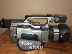 Sony Dcr Vx1000 Pal + Sony Dsr-v10p Digital Video Cassette Recorder Lecteur
