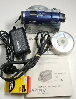 Sony Dcr-dvd100e Enregistreur Vidéo Numérique Handycam