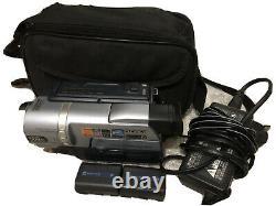 Sony Dcr-trv140e Digital 8 Barreaux D'enregistreur De Caméra Vidéo Sur Playback