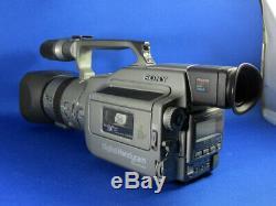 Sony Dcr-vx1000 Première Unité De L'enregistreur Caméra Vidéo Numérique Chargeur De Batterie