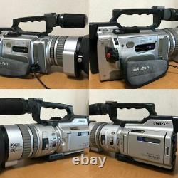 Sony Dcr-vx2000 Enregistreur De Caméra Numérique En Argent Métallisé Pour Pièces