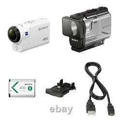 Sony Digital 4k Video Camera Recorder Action Cam Fdr-x3000 Blanc Nouveau