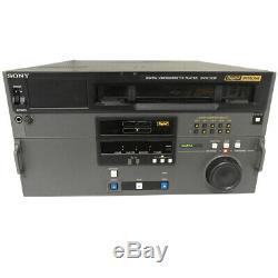 Sony Digital Betacam Dvw-522p Lecteur Numérique Vidéocassette Defekt Erreur 03