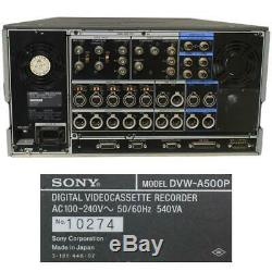 Sony Digital Betacam Dvw-a500p Numérique Vidéocassette Joueur