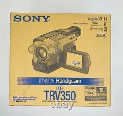 Sony Digital Handycam Dcr-trv350 Enregistreur De Caméra Vidéo