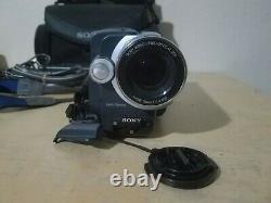 Sony Digital Handycam Vision Enregistreur De Caméra Vidéo Hi8 Dcr-trv140