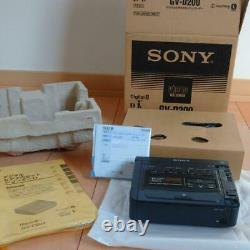 Sony Digital Video Cassette Recorder Gv-d 200 Hi-8 Boîte Manuel D'instruction Nouveau