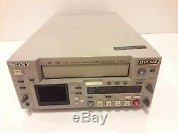 Sony Digital Video Recorder Cassette Dsr-25 Dvcam Mini DV Port 1394 Firewire