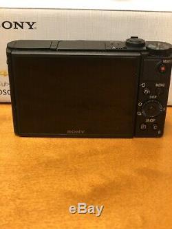 Sony Dsc-hx99 Appareil Photo Numérique Compact Avec 18,2 M 4k Enregistrement Vidéo