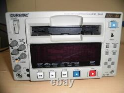 Sony Dsr-1500a Dvcam Digital Video Cassette Recorder Editing Deck Testé #l04