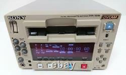 Sony Dsr-1500a Dvcam Digital Video Cassette Recorder Editing Deck Working Testé