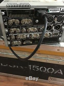 Sony Dsr-1500a Dvcam Digital Video Recorder Edition Cassette Plate-forme De Tambour
