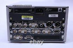 Sony Dsr-1500a Dvcam Video Cassette Recorder Edition Numérique Plate-forme De Tambour 0137