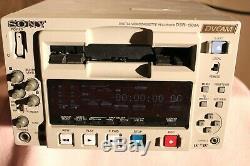 Sony Dsr-1500a Dvcam Video Cassette Recorder Edition Numérique Plate-forme Drum 0122 Utilisation