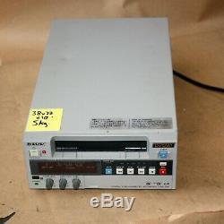 Sony Dsr-20p Digital Video Recorder Cassette Dvcam Minidv