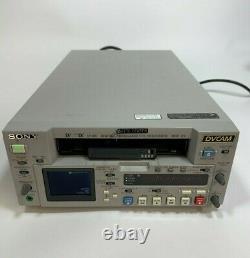 Sony Dsr-25 Digital Video Cassette Recorder Dvcam Vidéo Dans La Description