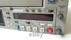 Sony Dsr-25 Enregistreur Cassette Vidéo Numérique Mini Dv, Dvcam 16x10 Drum Hrs Seulement