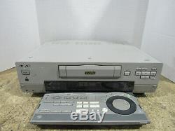Sony Dsr-30 Enregistreur Cassette Vidéo Numérique Avec Télécommande Non Testé Et Fonctionnel