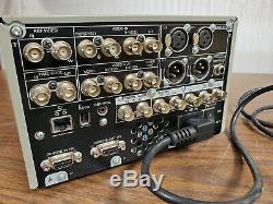 Sony Dsr-dr1000-a Enregistreur Disque Dur Vidéo Numérique Dvcam Disque Dur